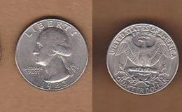 AC  - USA - UNITED STATES OF AMERICA QUARTER DOLLAR 1983 D - Emissioni Federali