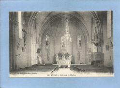 Asnan (58) Intérieur De L'église 2 Scans - France
