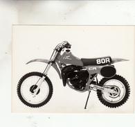 PHOTO MOTO HONDA CR 80 R - Moto
