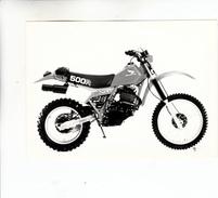 PHOTO MOTO HONDA X R 500 R - Motor Bikes