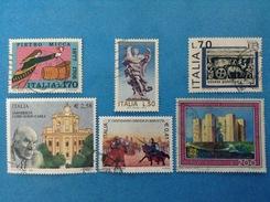 ITALIA LOTTO DA 6 FRANCOBOLLI USATI STAMPS USED (119a) - Lotti E Collezioni