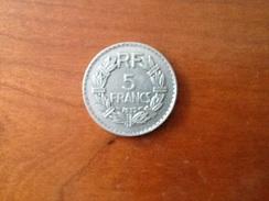 5 Francs Lavrillier 1933 - France