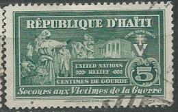 Haiti - Bienfaisance  - Yvert N° 2 Oblitere -  Aab15019 - Haiti