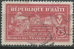 Haiti - Bienfaisance  - Yvert N° 5 Oblitere -  Aab15020 - Haiti