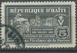 Haiti - Bienfaisance  - Yvert N° 1 Oblitere -  Aab15022 - Haiti