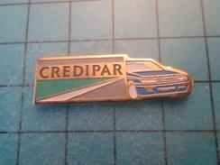 Pin412d Pin's Pins / Beau Et Rare : CREDIPAR VOITURE BLEU CIEL PEUGEOT 605 - Peugeot