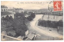 21 - DIJON - Gare Dijon Ville Prise Des Perrières - Ed. L.V. N° 545 - 1912 - Dijon