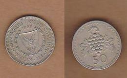 AC - CYPRUS 50 MILS 1963 KM#41 - Chypre