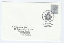 1986 Ministry Of DEFENCE  POLICE 15th Anniv EVENT COVER Gb Stamps - Police - Gendarmerie
