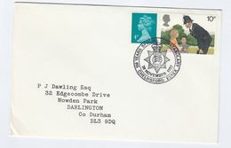 1981 CHELMSFORD ESSEX CONSTABULARY Police Anniv EVENT COVER Gb Stamps - Police - Gendarmerie