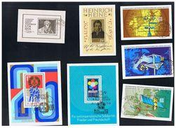 Schönes Lot, 78  Blöcke, Alles Gestempelt, 1960 Bis 90, Fast Komplett, Siehe Aufstellung Und Scan - Blocks & Kleinbögen