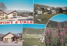 CPM  De  FONT  D' URLE  (26)  -  Vues  Diverses  De  La  Commune      //   TBE - France