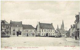 ANTOING - Grand'Place Et Rue Du Curé - Edit. E. Lespinne - Antoing