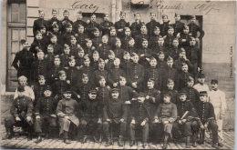 14 CAEN - Groupe De Militaire (22 Décembre 1917 - 36 Sur Les Képis) - Caen