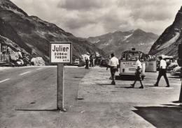 """VW Bus T1 Sondermodell """"Reisedienst Volz,Titisee"""",Julierpasshöhe,gelaufen 1963 - Voitures De Tourisme"""