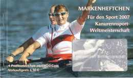 "726  Championat Du Monde Canoë, Allemagne 2007 - Canoe World Championship In Germany: Booklet ""Sporthilfe"" - Kano"