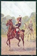 Militari Carabinieri Corazzieri Franchigia Cartolina XF6274 - Other