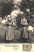 Paysannes Ardennaises (DVD , 1909, Timbre Taxe) - Stavelot