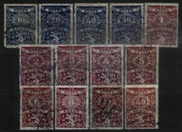 CZECHOSLOVAKIA, Revenues, Used, F/VF - Czechoslovakia