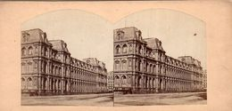 Photo Stéréoscopique - PARIS - LE LOUVRE - Stereoscopic