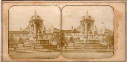 Photo Stéréoscopique - PARIS - Fontaines Des INNOCENTS - Stereoscopic