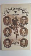 CPA - 37ème TOUR DE FRANCE 1950 - Les NAtionaux - Cycling