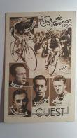 CPA - 37ème TOUR DE FRANCE 1950 -  Ouest - Cycling