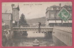 27 - BRIONNE--Sur La Risle - Barque--animé - Francia
