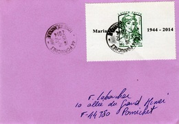 """France, """"Marianne"""" By Ciappa And Kawena, Large Size Stamp, 2013, VFU On Cover  SCARCE - Frankrijk"""