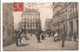 42 - SAINT ETIENNE - Place Mi-Carème. - Saint Etienne