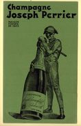 Buvard Champagne Joseph Perrier. - Blotters