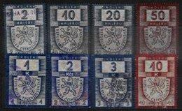 CZECHOSLOVAKIA, Revenues, Used, F/VF - Sonstige