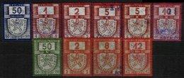 CZECHOSLOVAKIA, Revenues, (*) MNG, F/VF - Czechoslovakia
