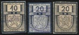 CZECHOSLOVAKIA, Revenues, Used, F/VF - Autres