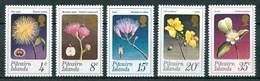1973 Pitcairn Fiori Flores Fleurs Set MNH** Fio171 - Francobolli