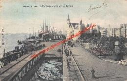 1908 L'Embarcadère Et Le Steen - Antwerpen Anvers - Antwerpen