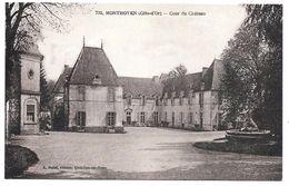 21 - MONTMOYEN - Cour Du Château - Ed. A. Bolzé N° 732 - Otros Municipios
