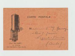 Carte Illustrée - Chaudiere - Empreinte Mécanique - Groupe IDEAL CLASSIC - Postmark Collection (Covers)