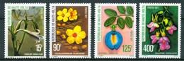 1977 Alto Volta Fiori Flores Fleurs Set MNH** Fio172 - Alto Volta (1958-1984)