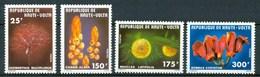 1977 Alto Volta Fiori Flores Fleurs Set MNH** Fio173 - Alto Volta (1958-1984)