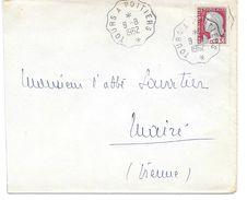 Convoyeur Tours à Poitiers 1962 - Correo Ferroviario