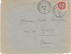 Convoyeur Tours à Poitiers 1944 - Correo Ferroviario