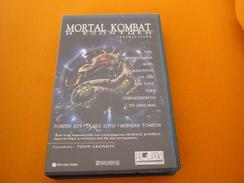 Mortal Kombat Annihilation Old Greek Vhs Cassette From Greece - Other