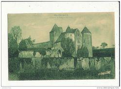 24 EN PERIGORD CHATEAU DE SALIGNAC FENELON CPA BON ETAT - France