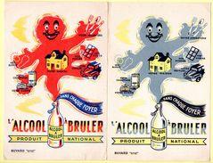 Lot De 2 Buvards Alcool à Brûler Pour L'entretien à La Maison. - Produits Ménagers