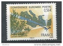 """FR YT 4422 """" Euromed Postal """" 2009 Neuf** - France"""