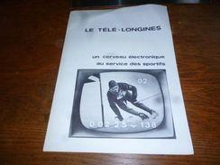 Folder  Horlogerie Montres Longines Télé-longines - Bijoux & Horlogerie