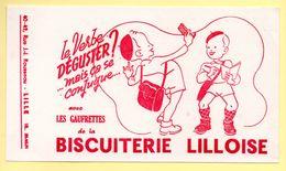 Buvard Biscuiterie Lilloise. Rue J.J.Rousseau à Lille. - Sucreries & Gâteaux