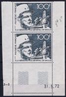 Polynésie Française AE Yv Nr 70   Maury 65 MNH/** Sans Charnière  Postfrisch 1972 Coin De Feuille - Poste Aérienne