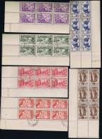 Guyane  Yv Nr143 - 148 Obl./Gestempelt/used  1937 Exposition - Guyana Francese (1886-1949)